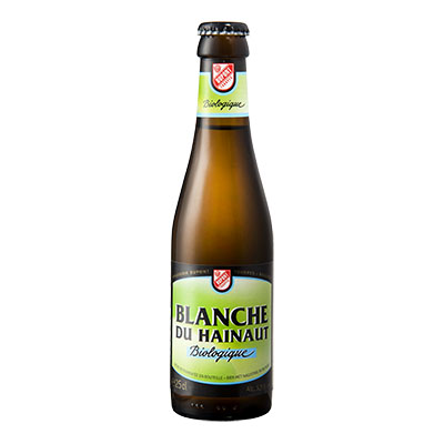 5410702001307 Blanche du Hainaut Bio - 25cl Bottle conditioned organic beer (control BE-BIO-01)